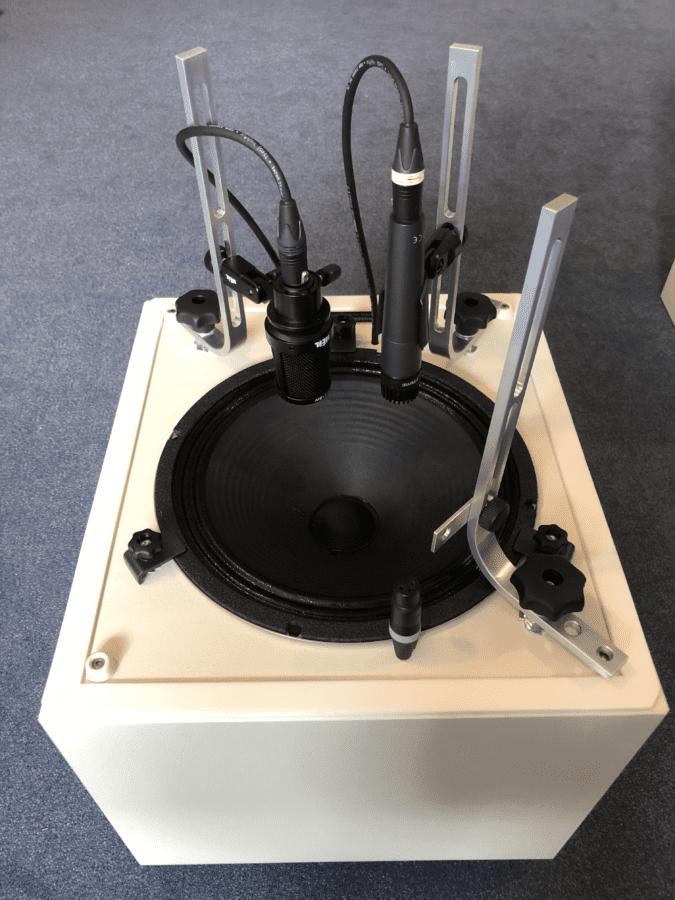 Grossmann SG-BOX mit Mikrofonierung