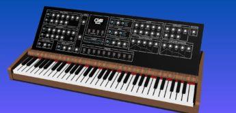 GS Music plant einen analogen Polysynth