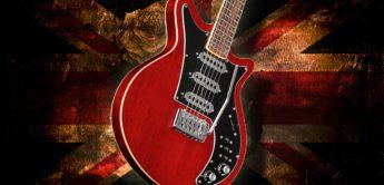 Test: Harley Benton BM-75 Trans Red, E-Gitarre