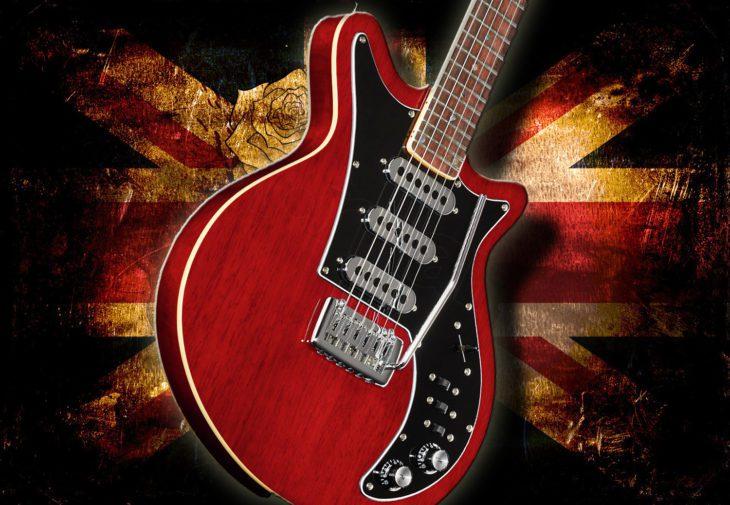 Harley Benton BM-75 Trans Red E-Gitarre