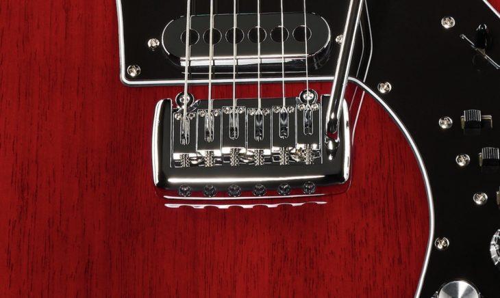 Harley Benton BM-75 Trans Red Vibrato