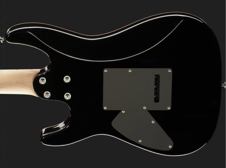 Harley Benton Fusion-II HSH MN FCH E-Gitarre Korpus 2
