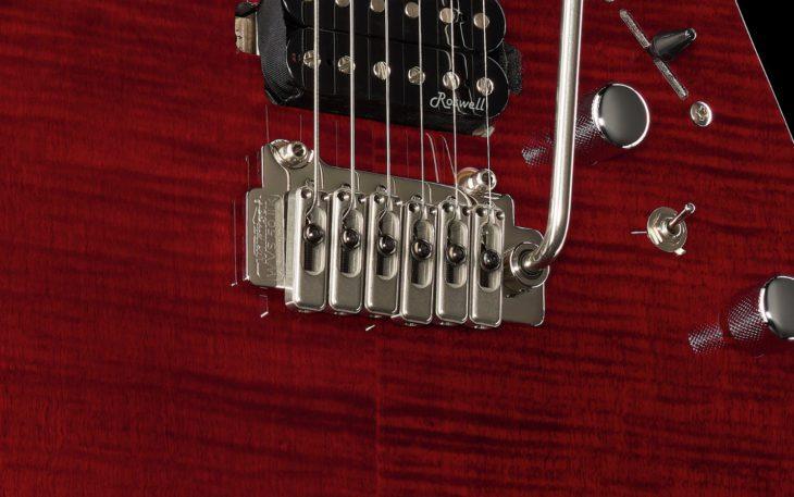 Harley Benton Fusion-II HSH MN FCH E-Gitarre Wilkinson