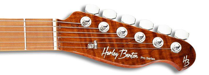 Harley Benton Fusion-T HH Kopfplatte-Headstock