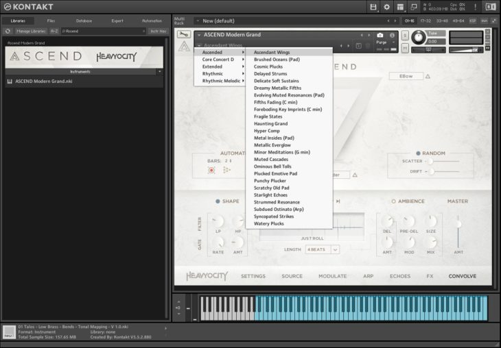Heavyocity ASCEND Presets
