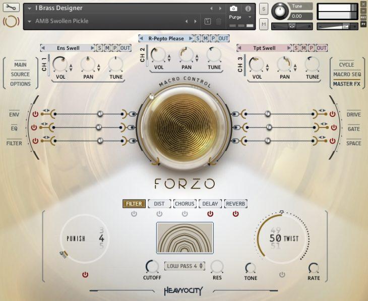 Heavyocity - Forzo Modern Brass Brass Designer