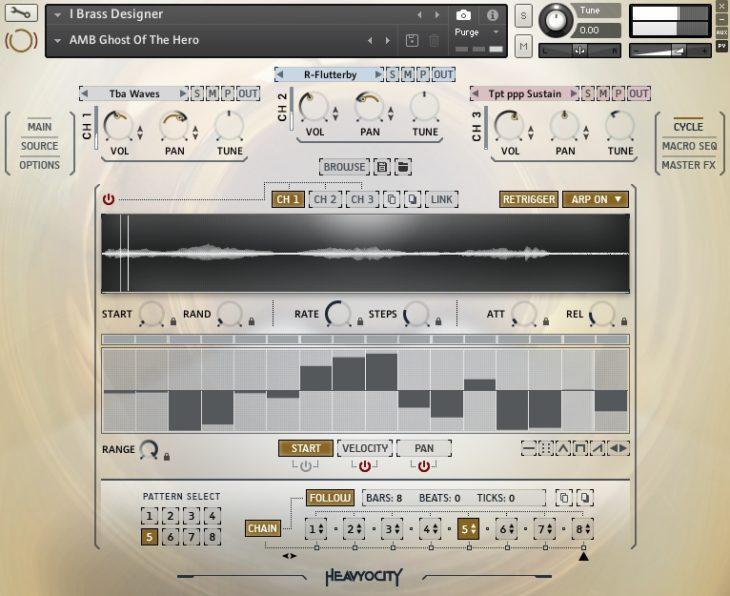 Heavyocity - Forzo Modern Brass Brass Designer Arpeggiator