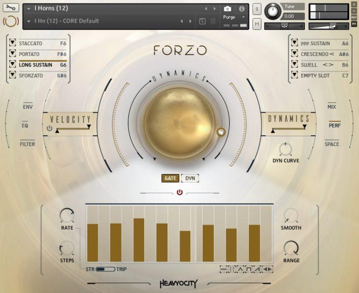 Heavyocity - Forzo Modern Brass Gate