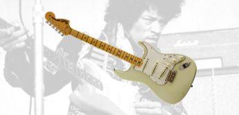 Fender stellt Hendrix Custom Shop Strat vor