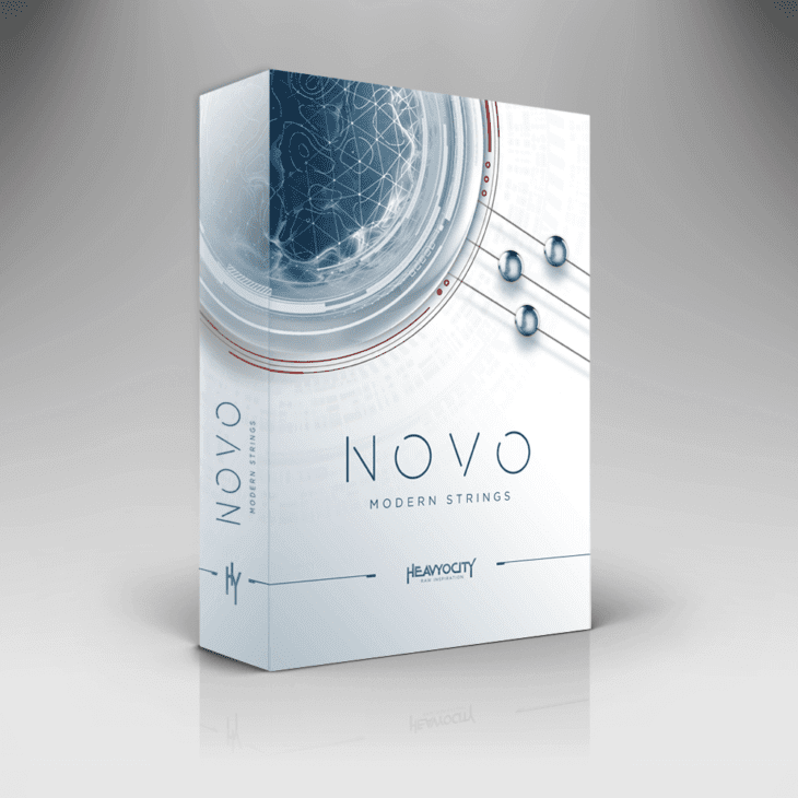 Heavyocity Novo Modern Strings Packshot