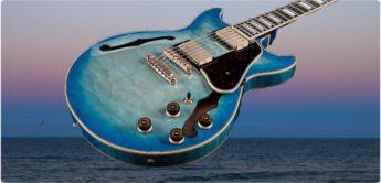 Test: Ibanez Artcore AM93QM-JBB, E-Gitarre