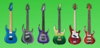 NAMM News 2019: Ibanez präsentiert 40 neue Gitarren