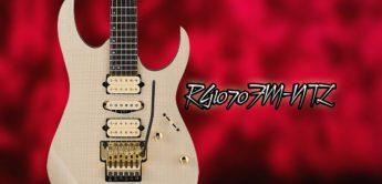 Test: Ibanez RG1070 FM-NTL, E-Gitarre