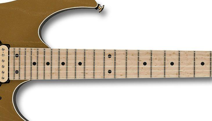 Ibanez RG657AHM-GDF E-Gitarre Griffbrett Fretboard