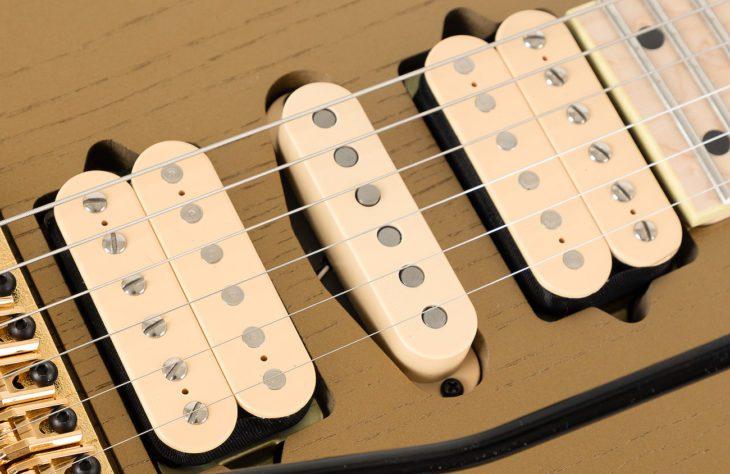 Ibanez RG657AHM-GDF E-Gitarre Pickups DiMarzio