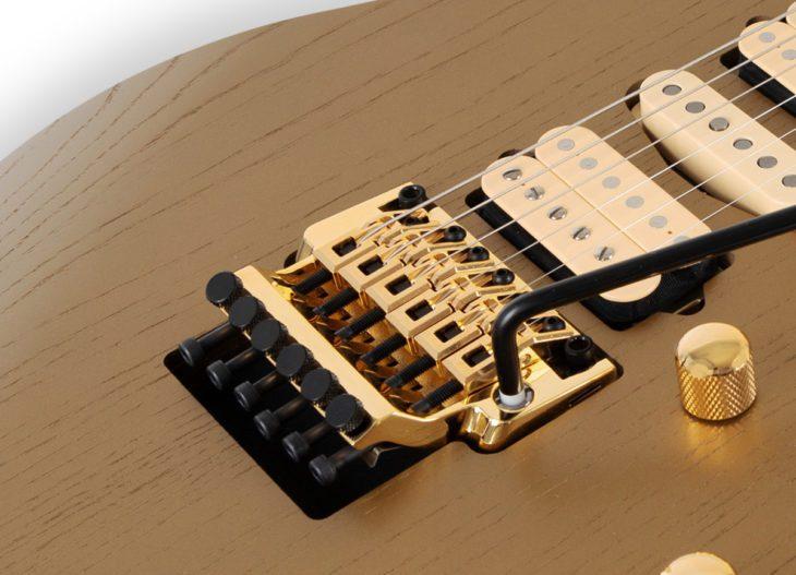 Ibanez RG657AHM-GDF E-Gitarre Vibrato