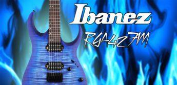 Test: Ibanez RGA42FM, E-Gitarre
