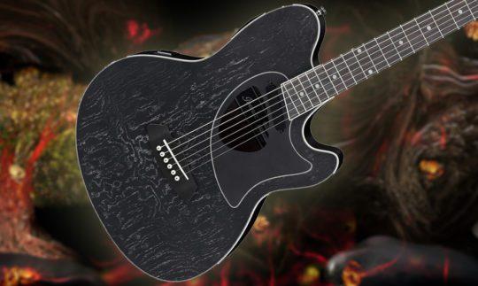 Test: Ibanez TCM50-GBO, Akustikgitarre