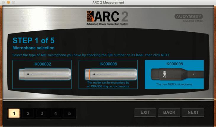 IK Multimedia ARC 2 - MEMS Versionen
