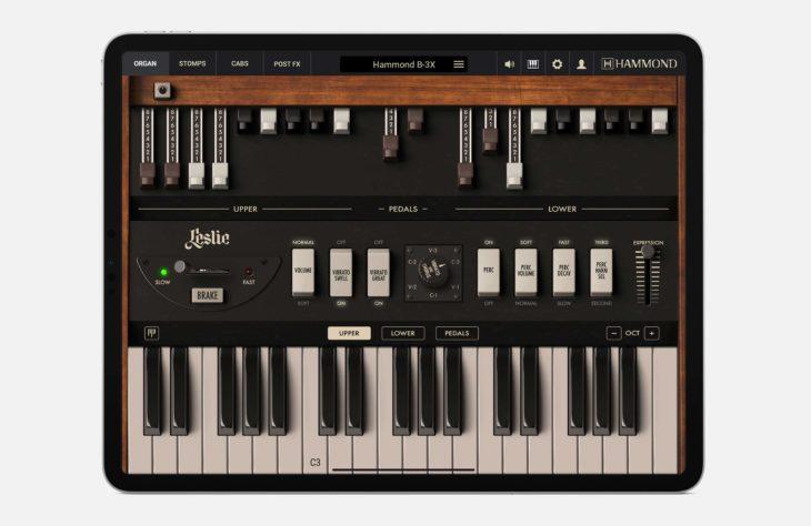 IK Multimedia Hammond BX-3 iOS keys