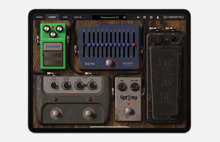 IK Multimedia Hammond BX-3 iOS Stomps