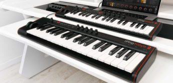 IK Multimedia stellt iRig Keys 2 MIDI-Keyboards/USB-Controller vor
