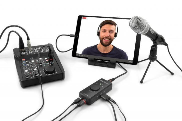 ik multimedia irig mic video cast hd 2 stream