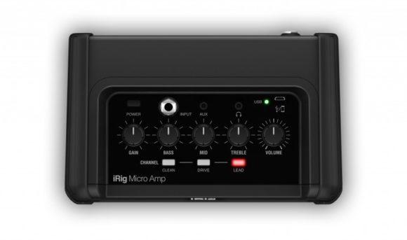 IK Multimedia iRig Micro Amp top