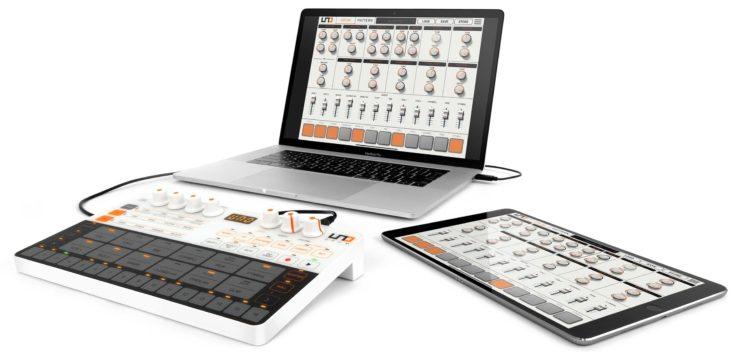 Uno Drum Editor läuft auf Mac, PC und iPad