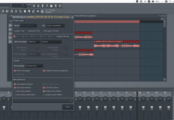 FL Studio 20 Audio Comping 3 Dialog