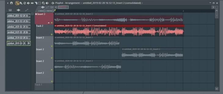 FL Studio 20 Audio Comping 4 Konsolidierung