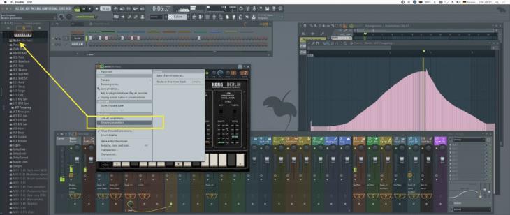 FL Studio 20 DAW Automation 1