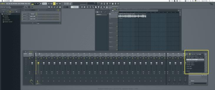 FL Studio 20 - Audio-EIngangswahl