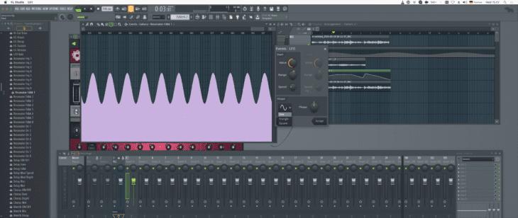 FL Studio 20 Automation Playlist und LFO