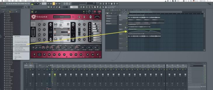 FL Studio 20 Automations-Clip