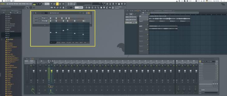 FL Studio Channelrack & GraphEditor