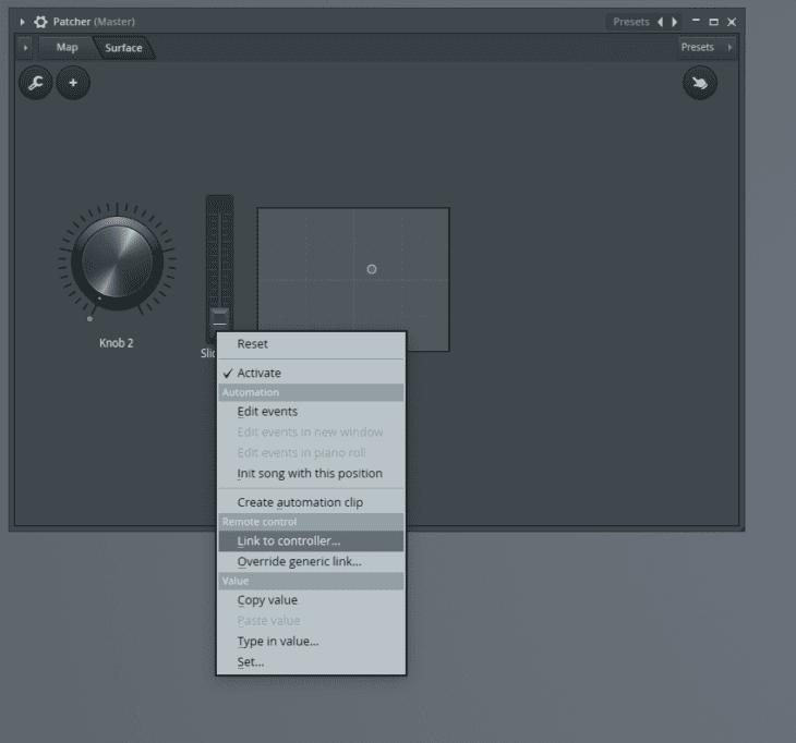 FL Studio Patcher Control Surface