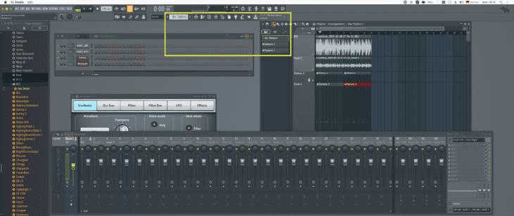 FL Studio Pattern
