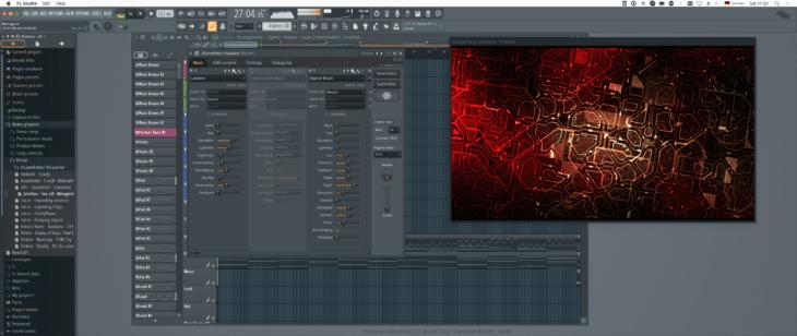 FL Studio zGameEditor Visualizer 2