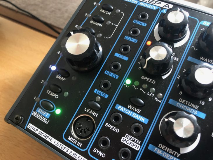 Test: Radikal Technologies Delta Cep A Synthesizer