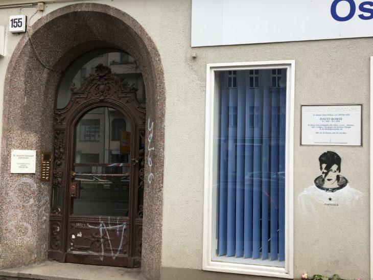 Hauptstrasse 155 in Berlin-Schöneberg. Hier befand sich Bowies Wohnung.