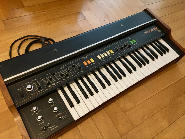 Selten und Inzwischen richtig teuer: Der Roland Vocoder VP-330.