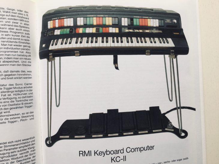 """Die Kapitel zu raren Synthesizern wie dem RMI Keyboard Computer machen die Anschaffung von """"Synthesizer von Gestern"""" heute noch lohnend."""