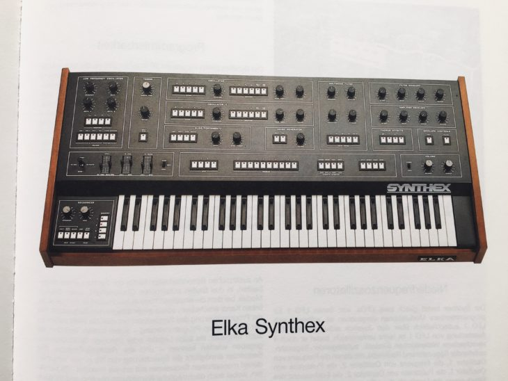 Matthias Becker zählt den Elka Synthex zu den großen polyphonen Synthesizern.