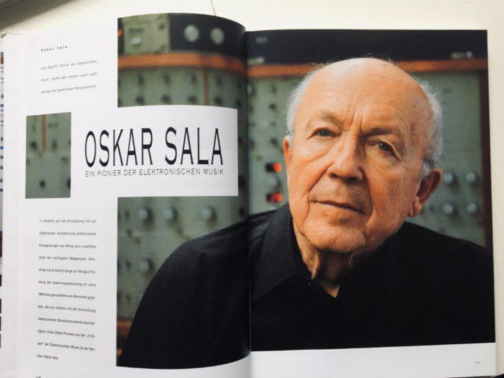 Blick ins Buch: Das Feature über Oskar Sala gehört zu den Highlights des zweiten Bands.