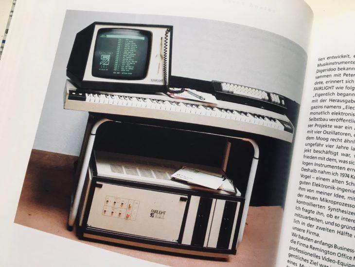 Auch das Fairlight-System wird in Synthesizer von Gestern vorgestellt.