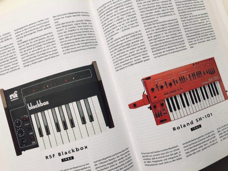 RSF Blackbox und Roland SH-101