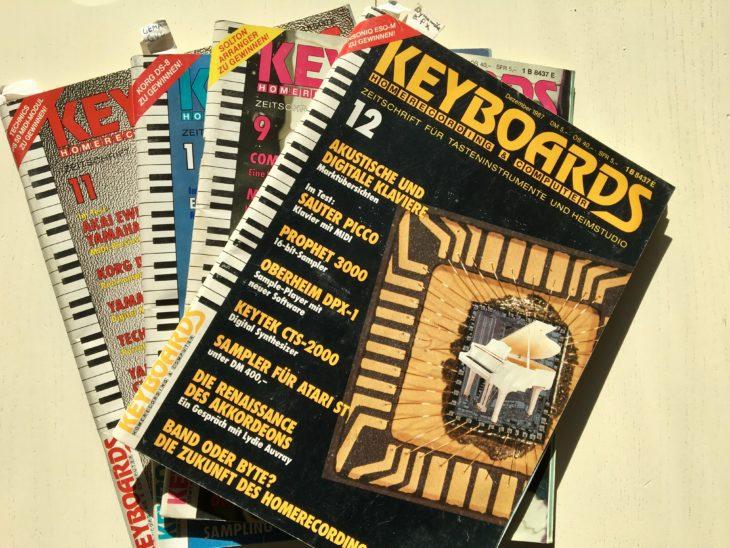 Wer sich in den 80er Jahren für Synthesizer interessierte, kam an der Zeitschrift Keyboards nicht vorbei.