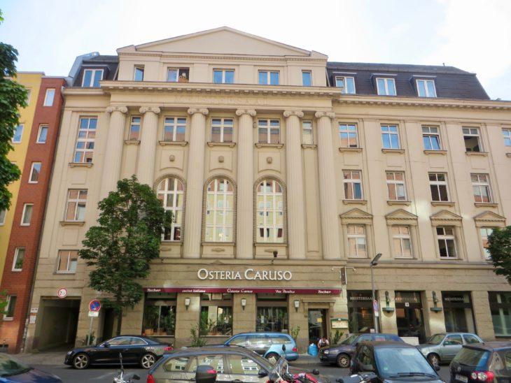 Das Hansastudio in der Köthener Straße lag bis zum Fall der Berliner Mauer in unmittelbarer Grenznähe.