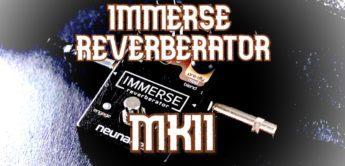 Test: Neunaber Immerse Reverberator MK II, Gitarren Hallpedal